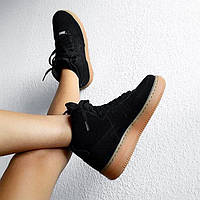 """Кроссовки Nike Air Force High """"Black/Gum"""""""