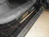 Накладки на пороги Volkswagen Passat B6 (05-10)