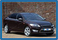 Хром молдинг Ford Mondeo (форд мондео) 2011-..6 шт, нерж. OmsaLine