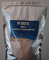 2 kg Whey Protein Concentrate 80% (Сывороточный протеин 2000 грамм) Шоколад, Малина
