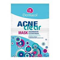 Dermacol AcneClear Маска стягивающая для жирной, комбинированной и проблемной кожи, склонной к акне 2х8гр