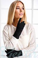 Теплые перчатки трансформеры. Цвет черный.