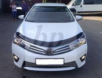 Дефлектор капота EGR (мухобойка) Toyota corolla XI (тойота королла 2013+)