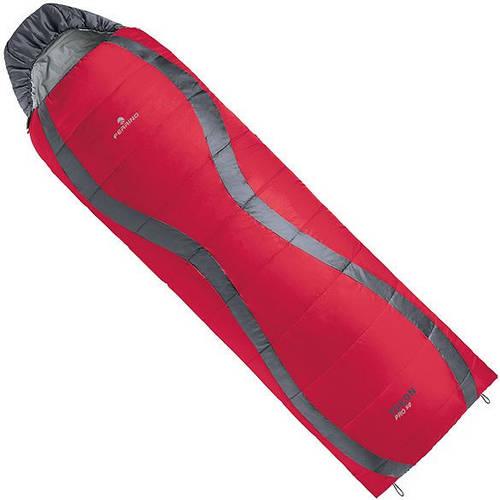 Спальный мешок Ferrino Yukon Pro SQ/+3°C Red/Grey (Left) 922942,  красный / серый