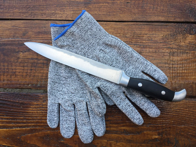 Кевраловые перчатки