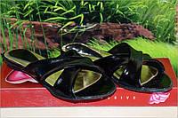 Босоножки шлепки кожаные М19 АКЦИЯ размер 36