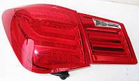 Фары оптика задняя тюнинг Chevrolet Cruze LUX