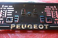 Рамка под номер книжка PEUGEOT
