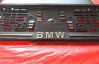 Рамка под номер книжка BMW