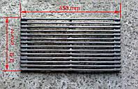 Решетка гриль чугунная для мангала (23х45см)