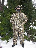 Зимний рыбацкий костюм: -30°C, размеры 48-50, 52-54, 56-58, 60-62, 2 кг, защита от ветра и влаги