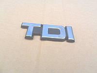 Декоративная наклейка TDI 8х3 см
