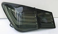 Фары оптика задняя тюнинг Chevrolet Cruze LUX черн