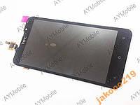 HTC 316 Desire Дисплей з сенсором чорний