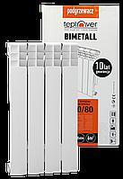 Биметаллический радиатор 500/80 TEPLOVER 4 секции