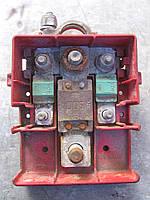 Клемма аккумулятора (плюсовая с предохранителями) 8200399265 б/у на Renault Master, Opel Movano 2003-2010 год