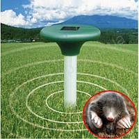 Ультразвуковой отпугиватель грызунов и кротов Solar pest reppeler, отпугиватель кротов на солнечных батареях