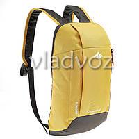 Городской, спортивный рюкзак Arpenaz 10L желтый с оранжевым