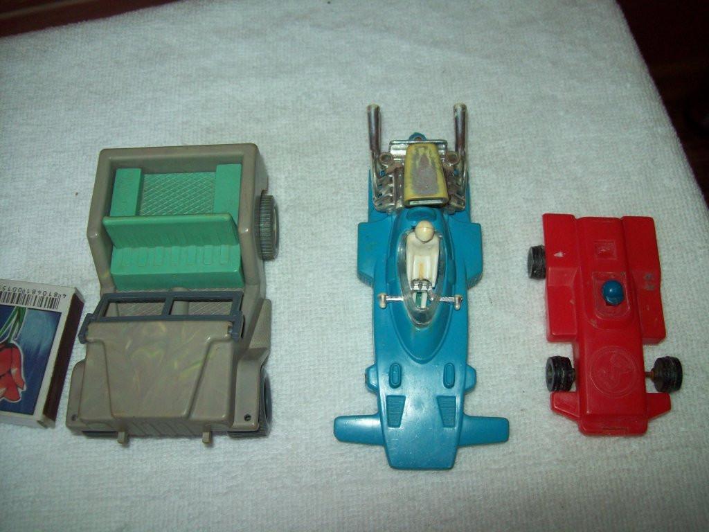 Три машинки СССР - гоночные,джип