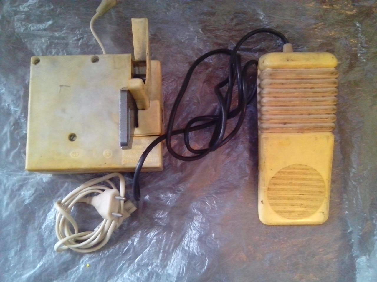 Электропривод с педалью для швейной машины СССР