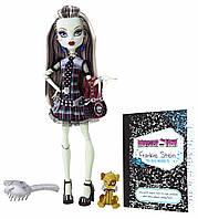 Кукла Монстер Хай  Френки Штейн базовая с питомцем (Monster High Frankie Stein)