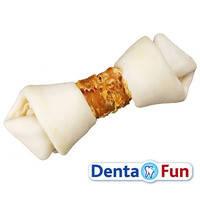 Trixie DentaFun Кость для чистки зубов с курицей 11 см*2 шт