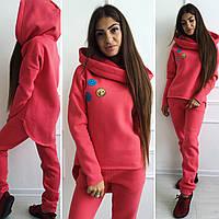 Спортивный костюм Смайли норма и батал, 3 цвета