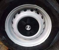 Колпаки колеса Ваз 2101 - 2109 комплект 4шт белый логотип