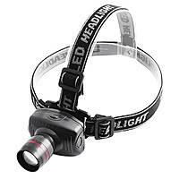 Налобный фонарь Tk27 (6611A) LM zoom 3AAA