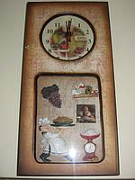 Часы-панно  настенные,  Шеф Повар, Декор для дома, Днепропетровск