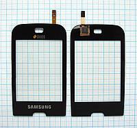 Тачскрин сенсорное стекло для Samsung GT-B5722 Duos black
