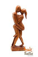 Деревянная статуэтка ручной работы Любовь