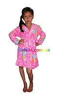 Детский махровый халат для девочки 122-128 см