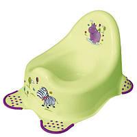 "Дитячий горщик ""Hippo"", зелений"