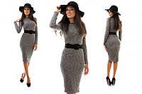 Трикотажное платье Вязка. Два цвета