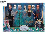 Куклы Фроузен, Frozen, крижане серце, холодное сердце 4 персонажа