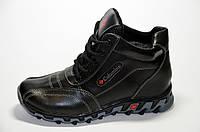 Детские зимние кожаные ботинки Columbia (35-39 р.)