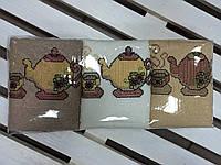 Набор кухонных махровых полотенец 6 шт