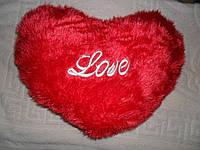 Подушка сердце LOVE - для любимых.