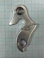 Петух (концевик рамы) DPR-02 серебро