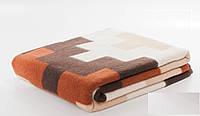 Шерстяное одеяло Vladi Тетрис 01 (140х205)