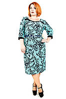 Платье большого размера Брошь паутинка, дропшиппинг украина, платье большого размера недорого,