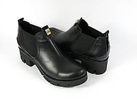 Женские ботинки на каблучке