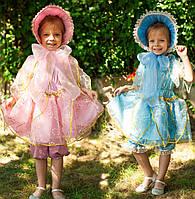 """Карнавальный маскарадный детский сказочный костюм """"Кукла розовая, голубая"""""""