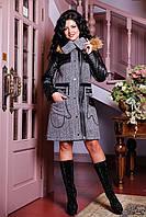 Женское зимнее пальто с мехом арт. 842 и/м Dracena/50 Тон 13