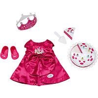 Одежда для празднования День рождения  для куклы Baby Born Zapf Creation