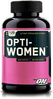 Витамины и минералы для женщин Optimum Nutrition  Opti-Women (120 tabs)