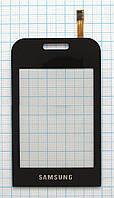 Тачскрин сенсорное стекло для Samsung GT-E2652 Champ Duos black