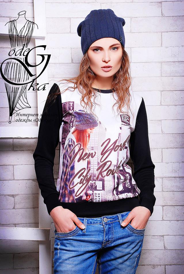 Подобные товары-21 Женского стильного свитшота Клит-3