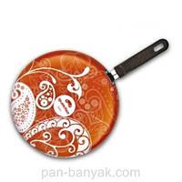 Ornamento Crepe Сковорода блинная d26 см алюминий с антипригарным покрытием Granchio